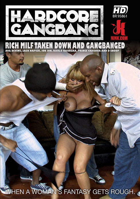 Rich MILF Taken Down and Gangbanged
